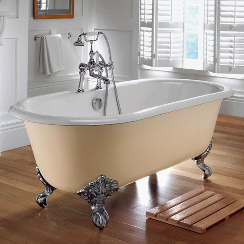 Imperial Double Ended Freestanding Roll Top Bath at Bathroom City
