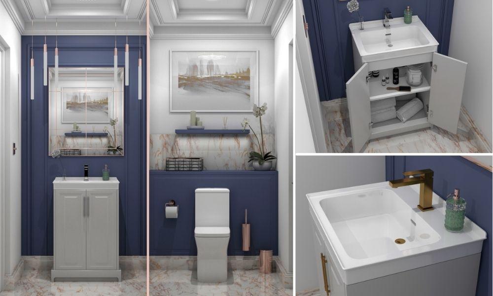 Add-Earthy-Furniture-Shades-To-Your-Bathroom