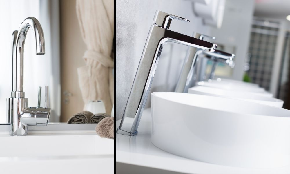 Image-showing-two-styles-of-Basin-Sink-Taps