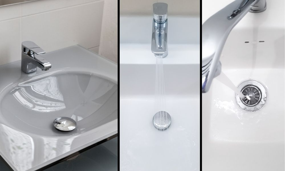 Image-showing-Basin-Sink-Traps-in-three-parallel-images
