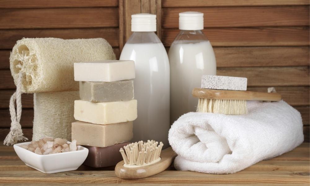 Create Bathroom Mood with Bath Salts Scrubs and More