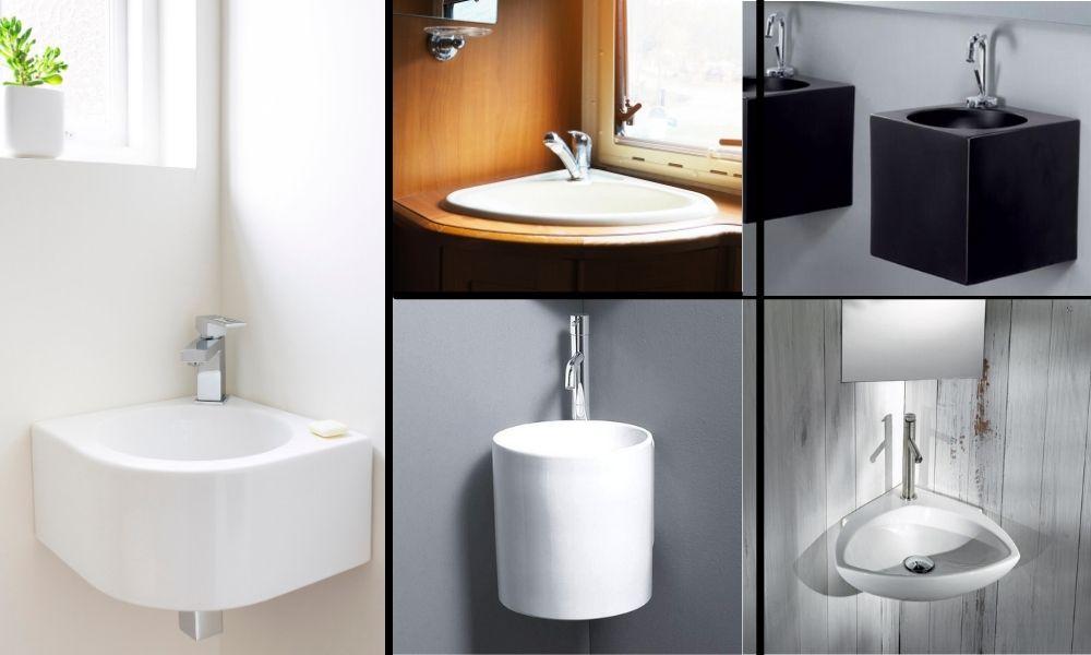Image-Showing-Two-Corner-Wash-Hand-Basins