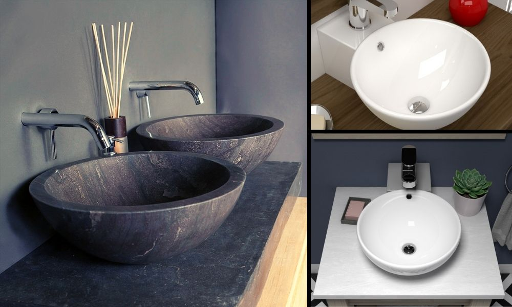Image-showing-Modern-Counter-Top-Basins-In-Stone-And-Ceramic