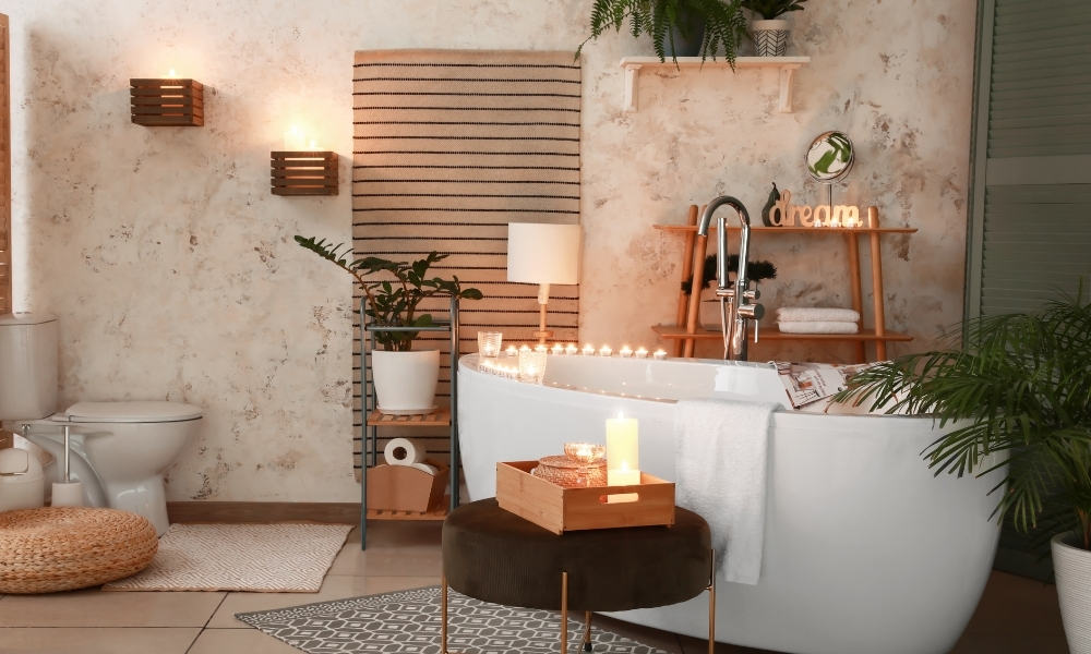 Create the Right Ambience in the Bathroom With Candles