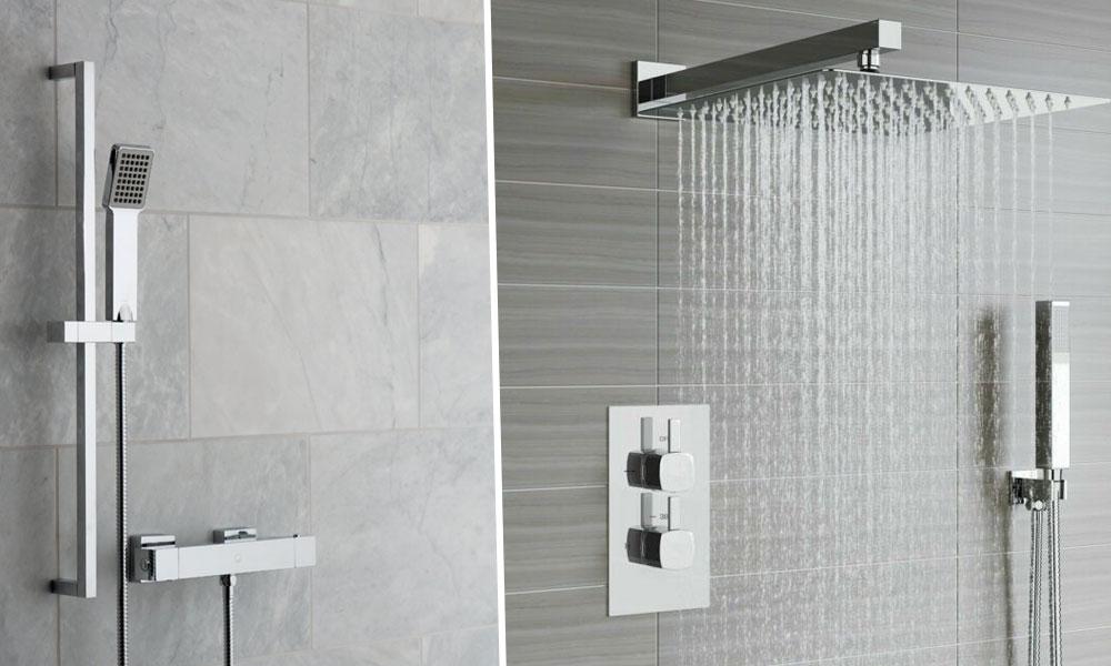 Exposed Shower Valves Versus Concealed Shower Valves