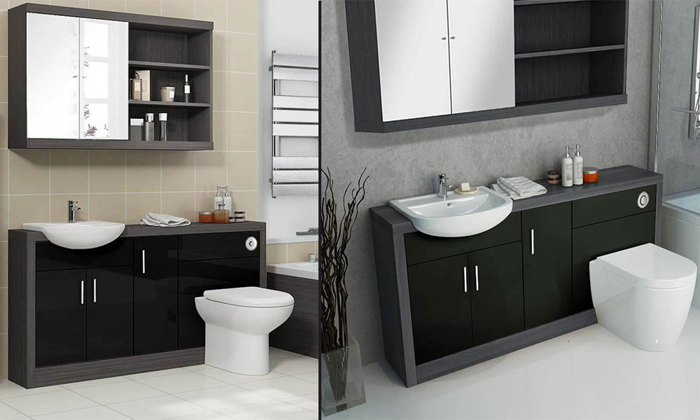 Black Fitted Furniture