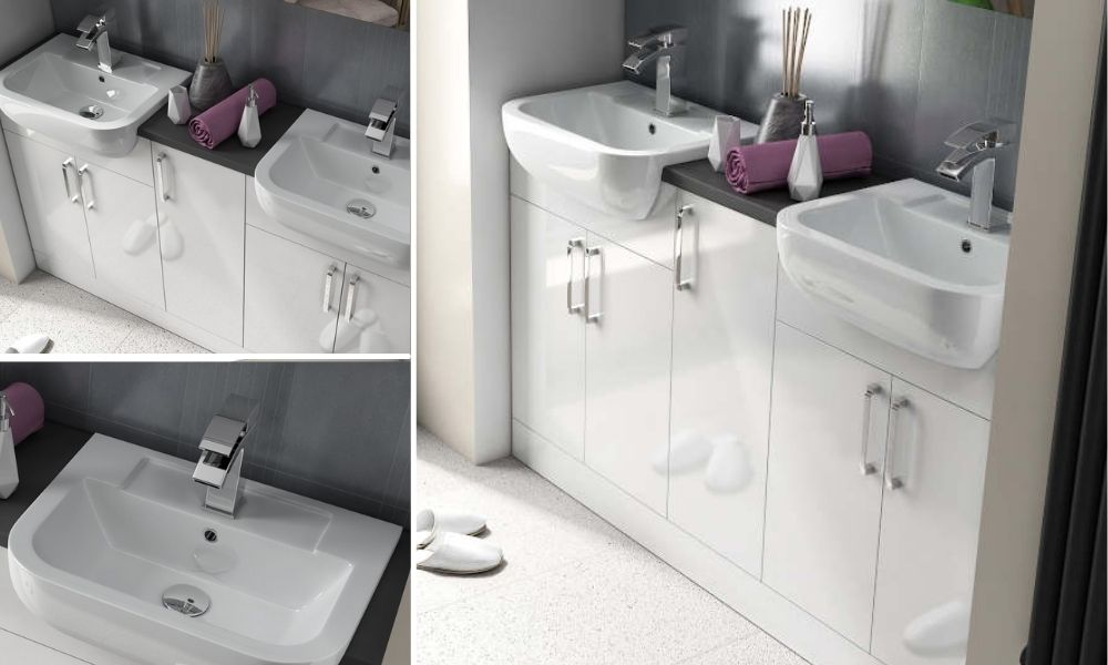 Double-Sink-Bathroom-Vanity-White-And-Dove-Grey-In-Color