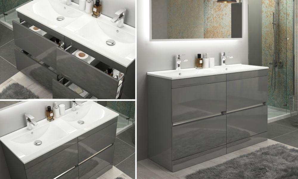 Freestanding-Double-Basin-Vanity-Unit-Handle-less-4-Deep-Drawers