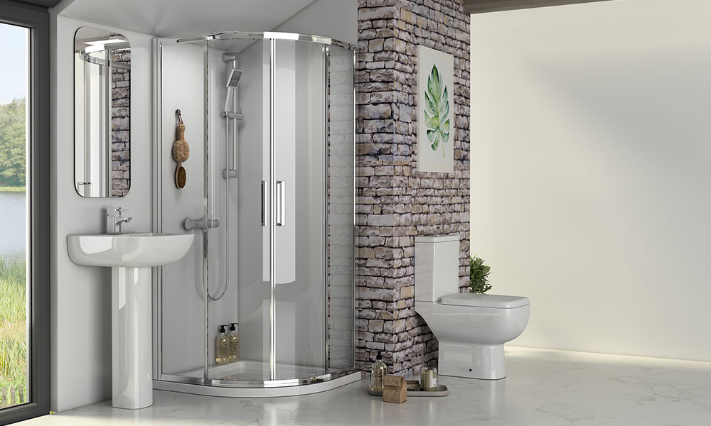 How To Choose a Reduced Height Shower Enclosure