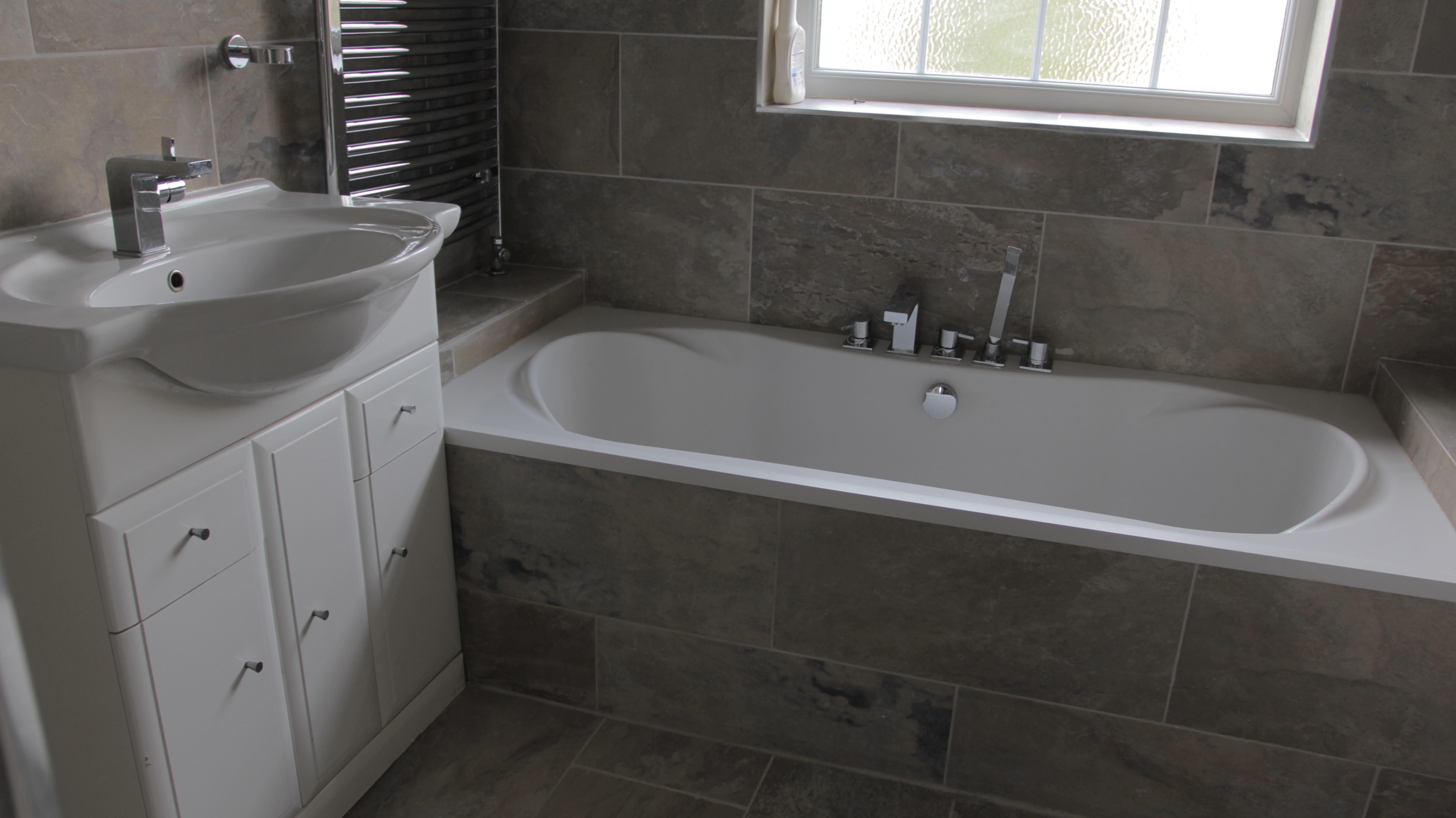 My first house renovation bathroom city for My bathroom renovation