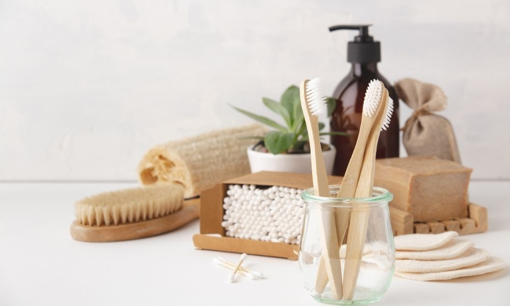 Image-Of-Bathroom-Accessories-On-Counter-Top