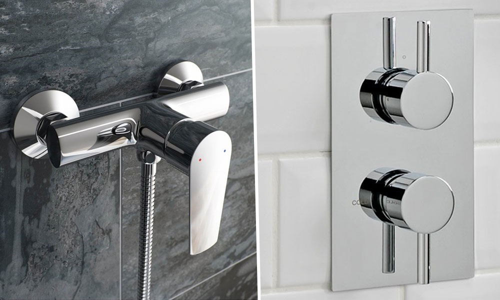 Manual Shower Valves Versus Thermostatic Shower Valves