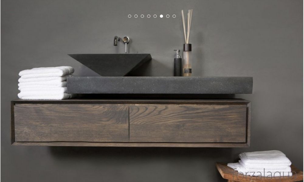 Modern-Designer-Grey-Stone-Basin-Unit