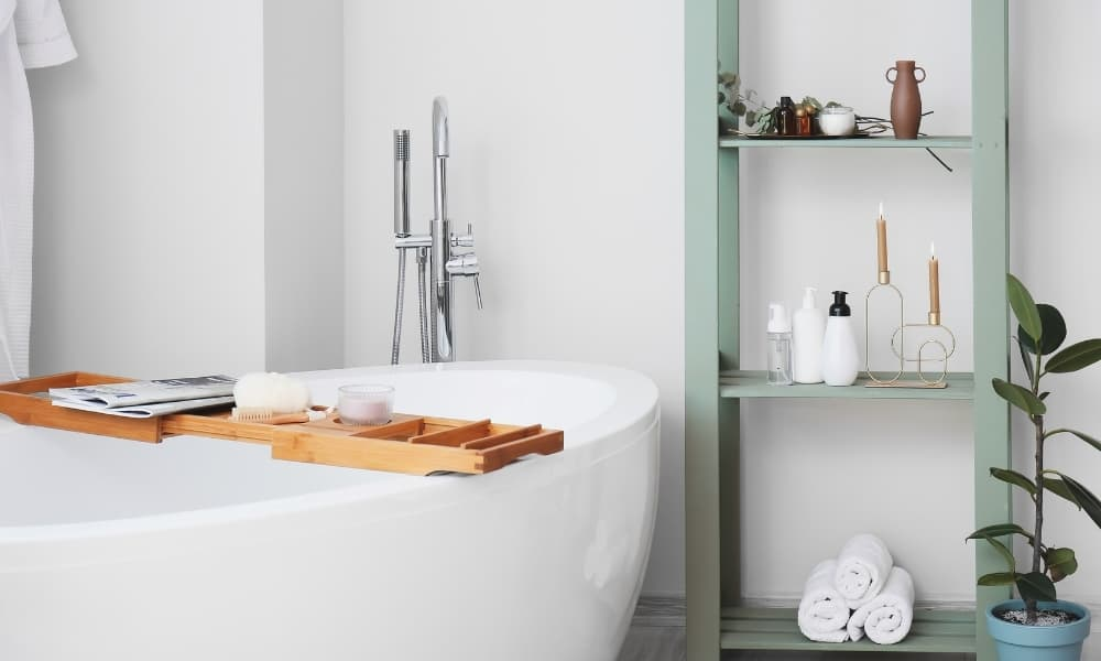 Organise the Shower and Bathtub