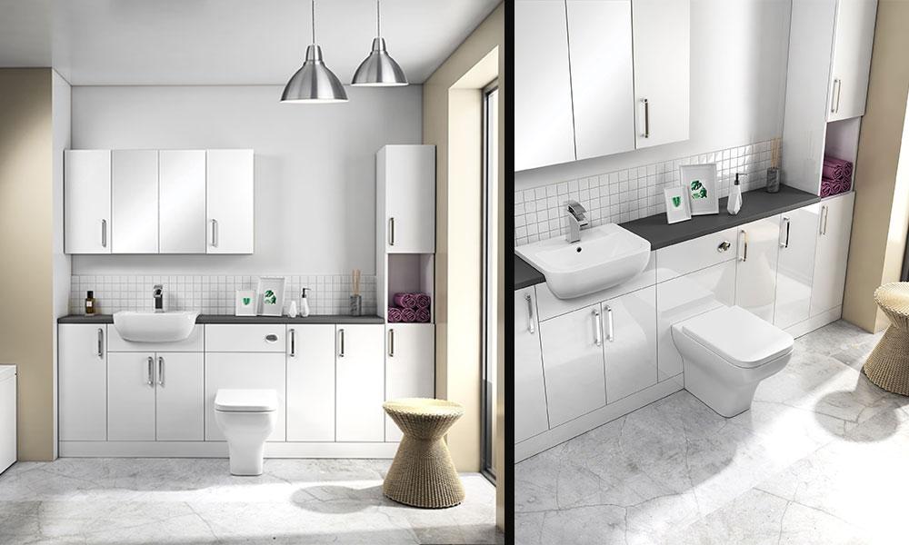 Oyster Grey Bathroom Furniture
