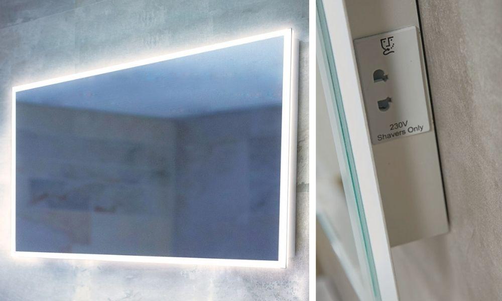 Image-Of-Smart-Mirror-With-Lights-Shaver-Socket