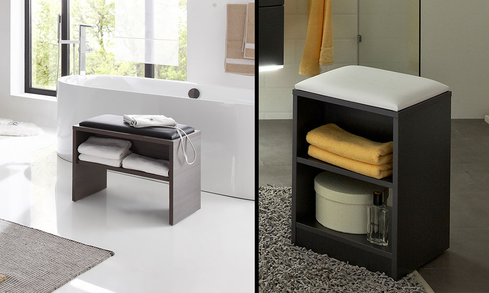 Bathroom Storage Benches