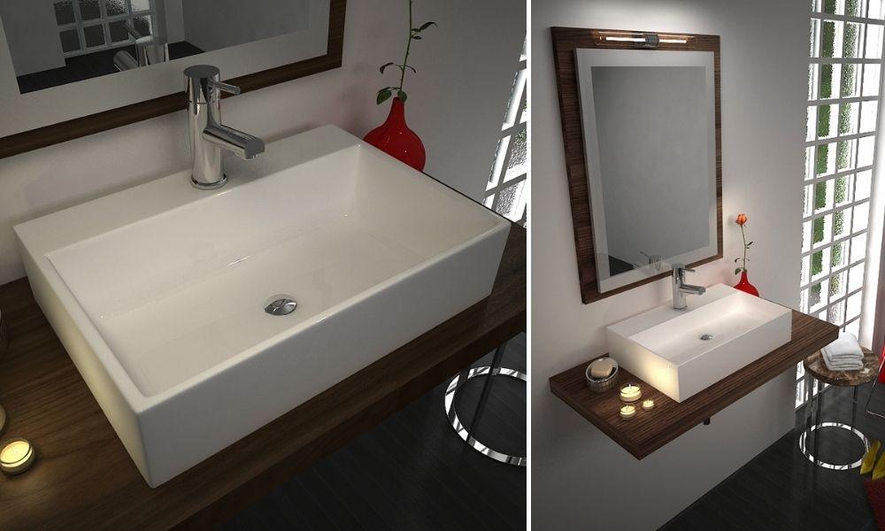 Image-Of-Stylish-White-Rectangular-Wash-Basin