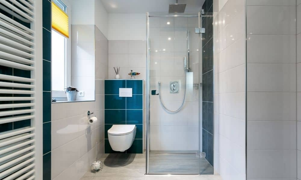 Image-Of-Walk-In-Shower-And-Toilet-In-Small-Bathroom