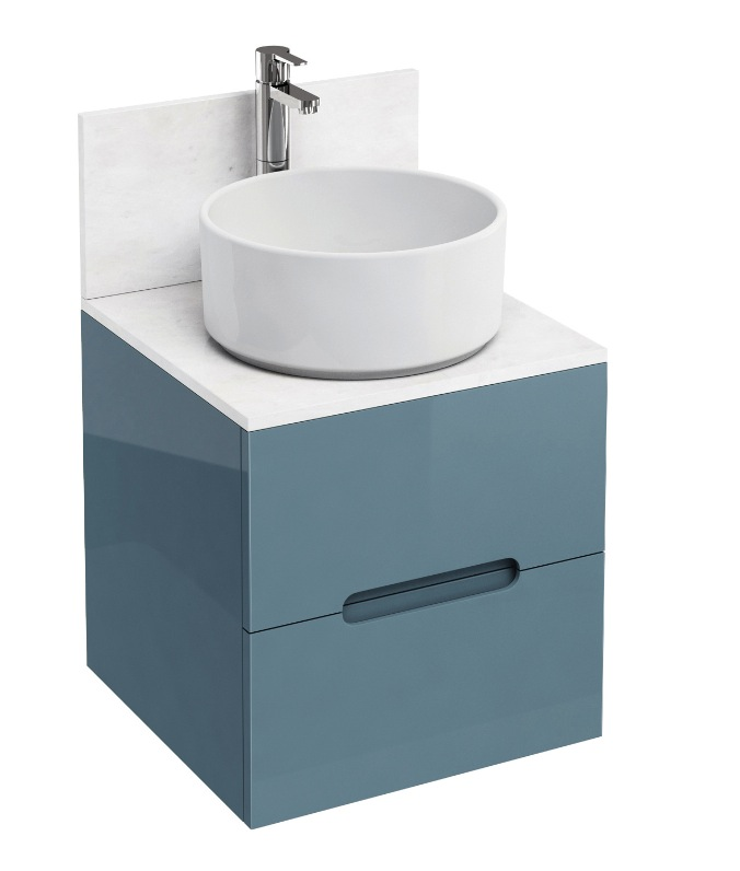 Aqua Cabinets Wall Hung Drawer Unit from Bathroom City