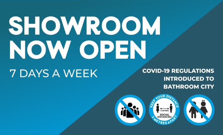 Our Showroom is now Open with newly introduced Covid-19 Regulations for social distancing and customer safety. Click here to find our location!