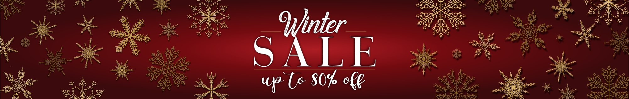 Winter sale - up to 80% off