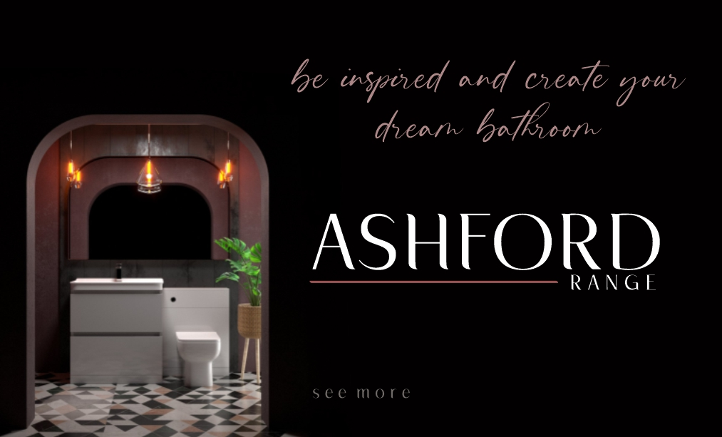 Be inspired and Create your dream bathroom with our new Ashford Range! See more!!