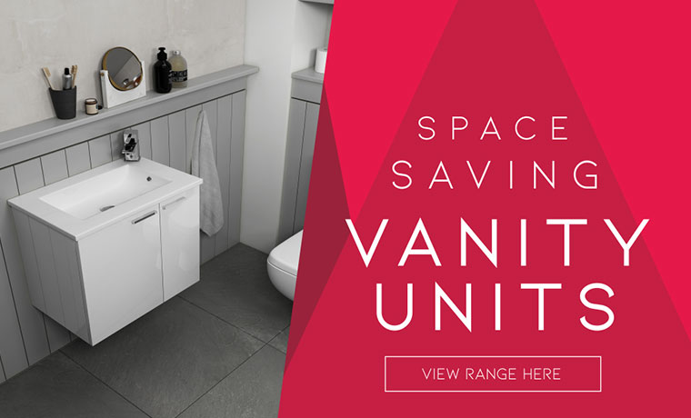 Space Saving Vanity Units Range now available at Bathroom City! Click here to find out more!