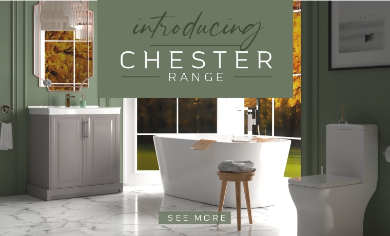 Choose our traditional Chester range for your dream bathroom! See more!!
