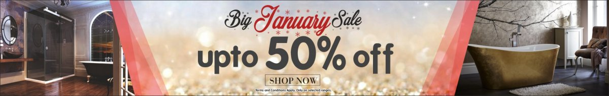 Big January Sale! - Up to 50% off - Shop now. Terms and conditions apply. Only on selected ranges.