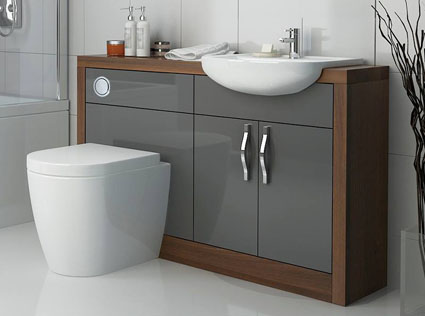 Lucido Fitted Bathroom Furniture at Bathroom City