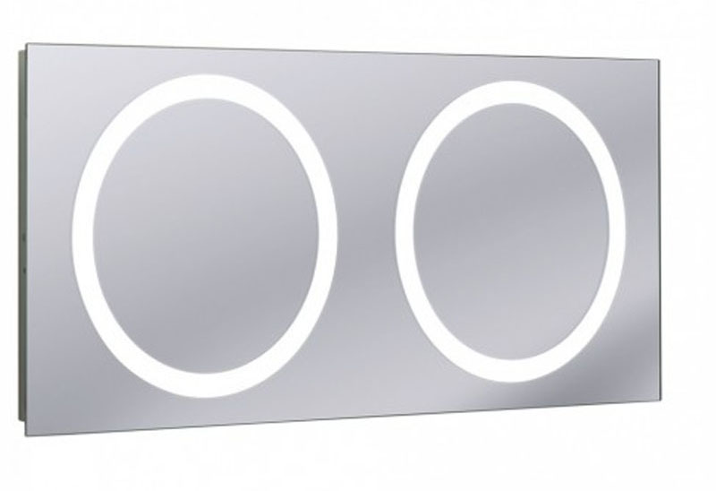 Bauhaus Edge Back Lit Mirror at Bathroom City