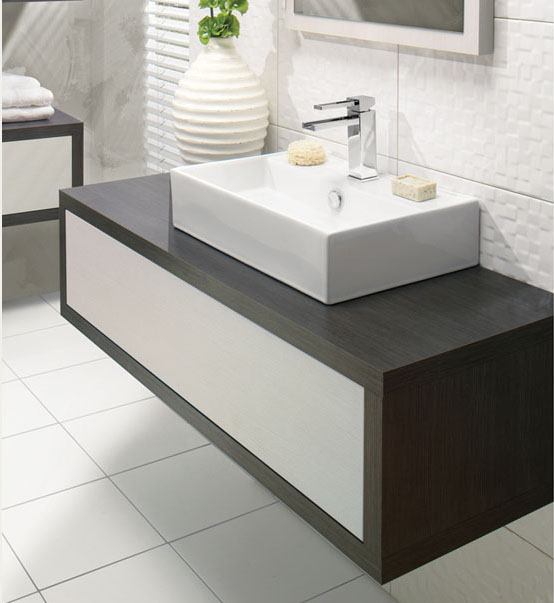 Bauhaus Touch Drawer Vanity Unit from Bathroom City