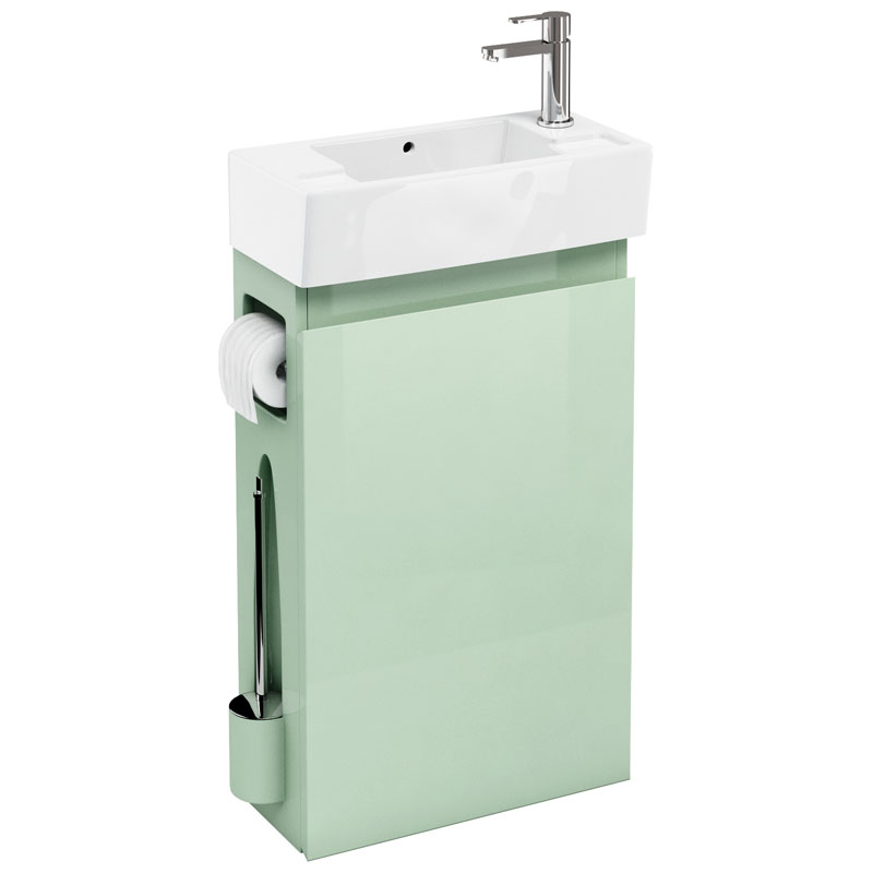 Aqua Cabinets Compact All In One Basin from Bathroom City