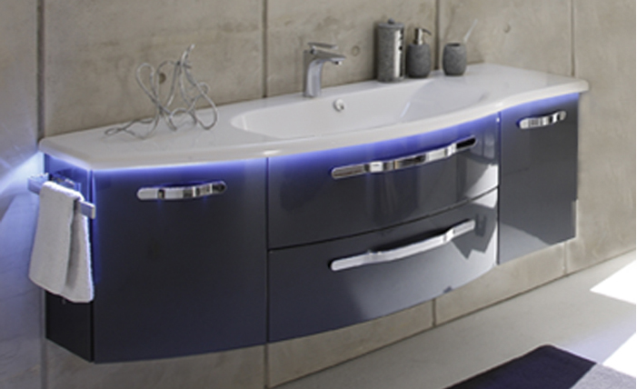 Pelipal Vanity Cabinet With Basin From Bathroom City
