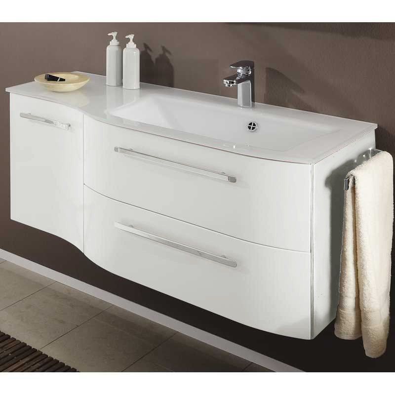 bathroom vanity units with sink. Contea 2 Draw Door Vanity Unit Glass Basin 1190 X480 RH Bathroom Sink cabinets and wall hung vanity units at