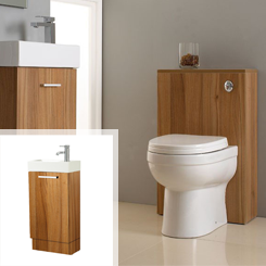 Phoenix Cube Bathroom Suite for Small Bathroom Suites at Bathroom City
