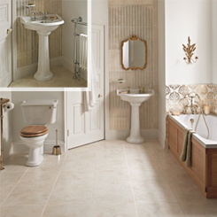 Heritage Dorchester Bathroom Suite at Bathroom City
