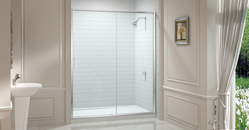 Merlyn Sliding Shower Enclosure at Bathroom City