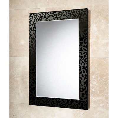 flowered Wall mirror