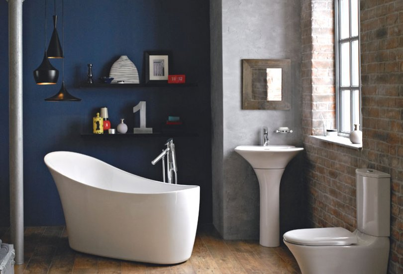 Heritage Kharine Slipper Bath at Bathroom City