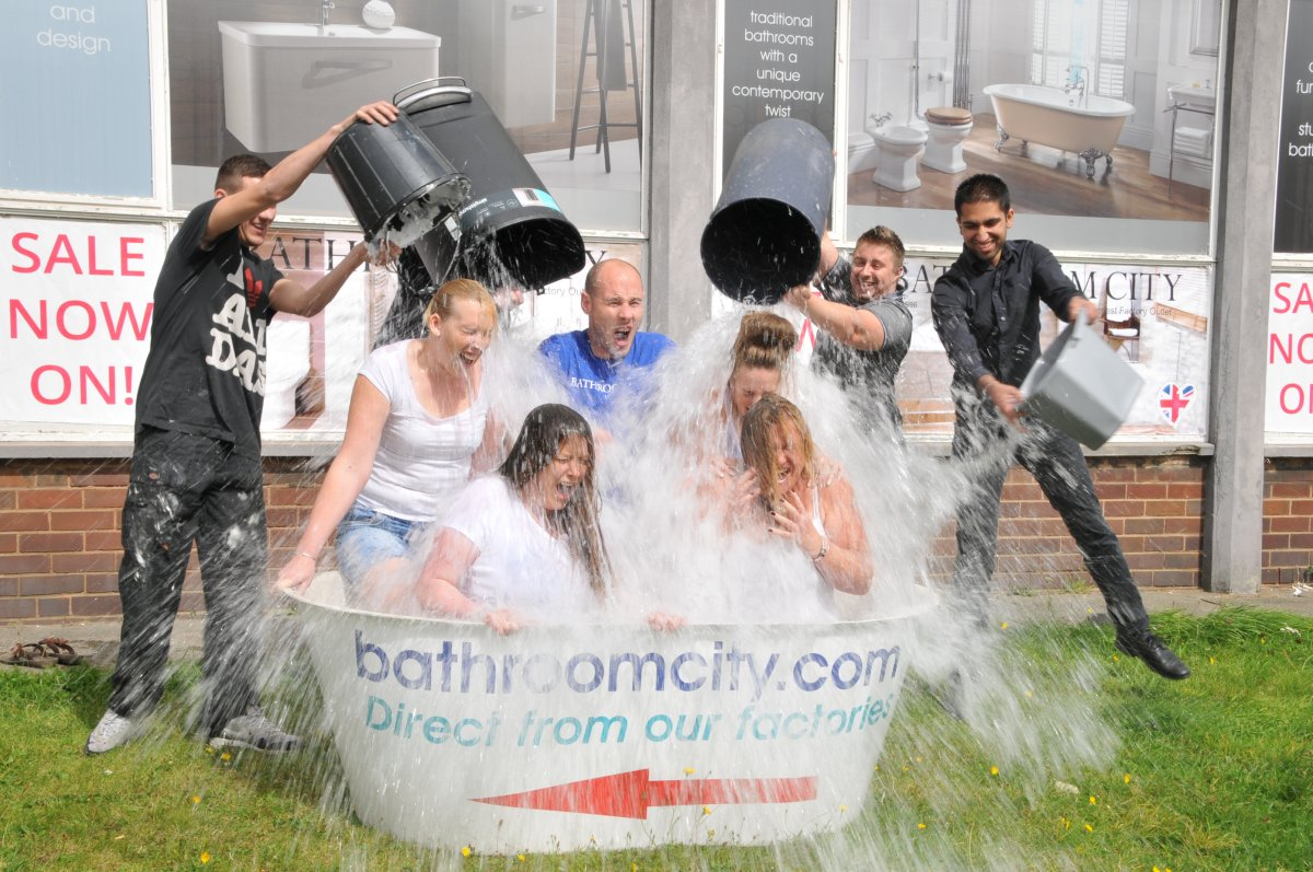 Bathroom City Ice Bucket Challenge Large Pic