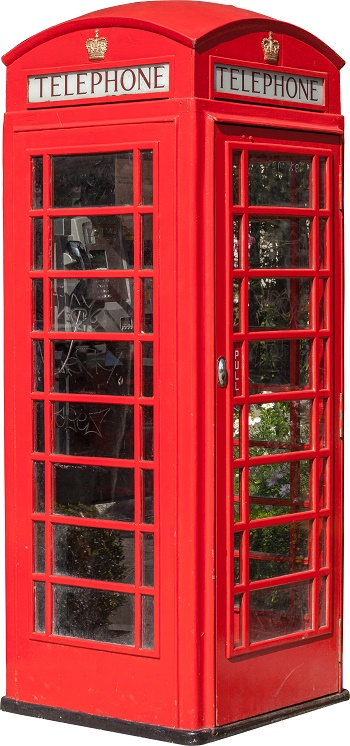 re british telephone box