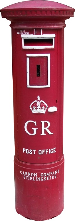 red British letter box