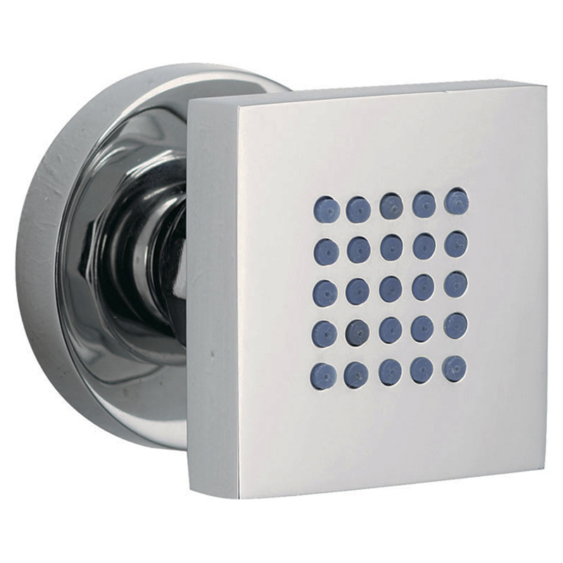 square shower body jet