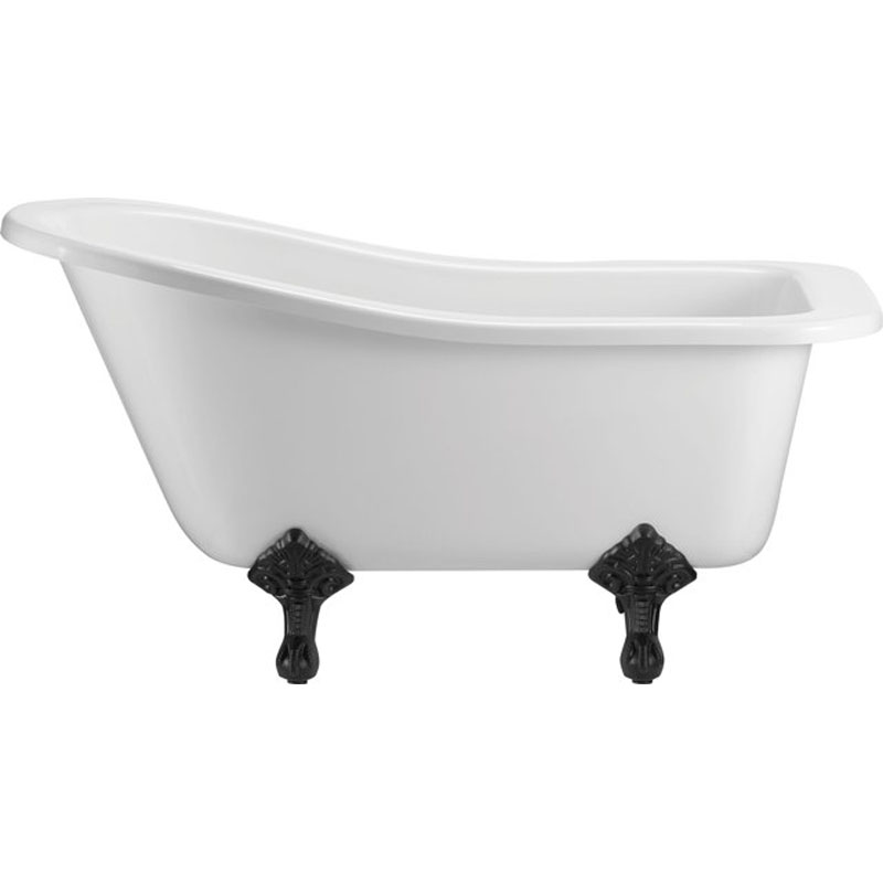 free standing slipper bath