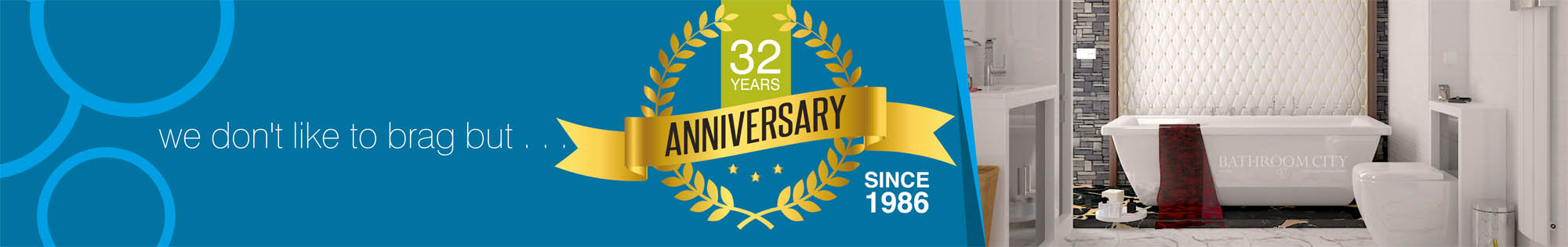 We don't like to brag, but we've been providing our service for 30 years!