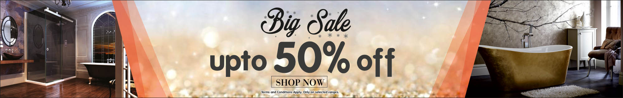 Big February Sale! - Up to 50% off - Shop now. Terms and conditions apply. Only on selected ranges.