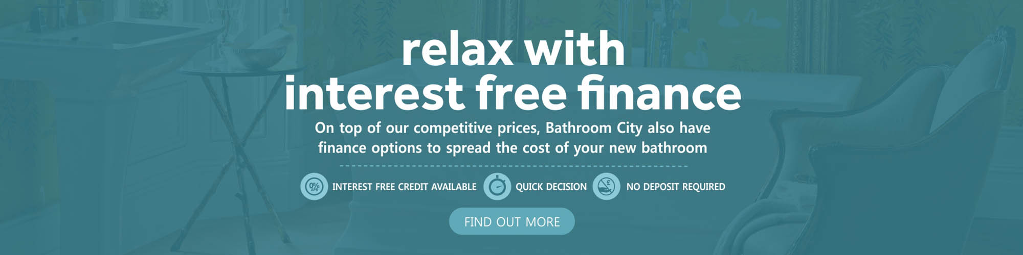 Relax with Interest Free Finance - 0% Interest Free Credit Available - Quick Decision - No Deposit Required