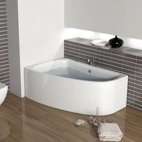Large and small corner baths uk at bathroom city for Small baths 1200